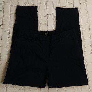Mario Serrani Women Navy Blue Capri Pants Size 10